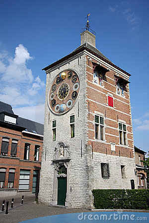 Zimmer tower in Lier, Belgium