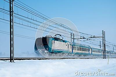Zimno pociąg