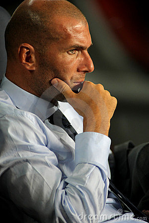 Zinedine Zidane Editorial Photo