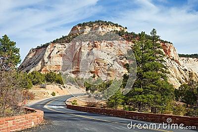 Zion Canyon Mesa