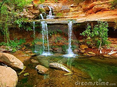 Zion Double Falls