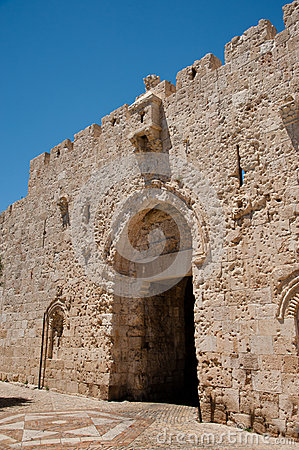 Zion Gate in Jerusalem s Old City