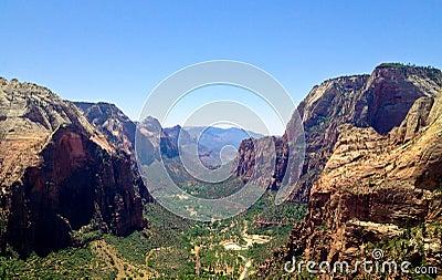 Zion National Park view