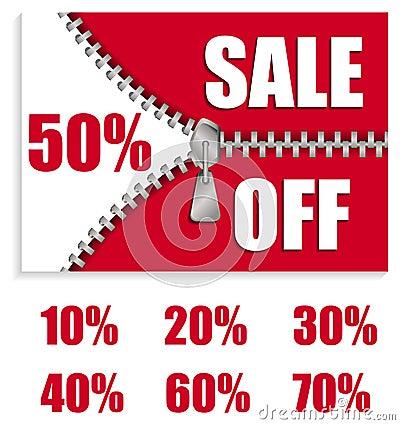 Zip sale