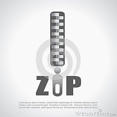 Zip symbol