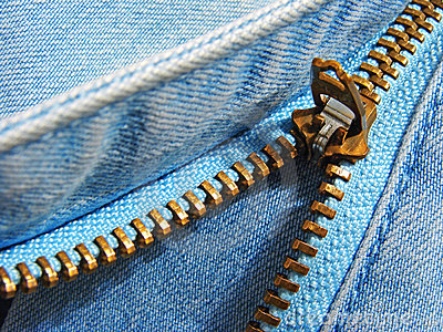 Zipper fragment
