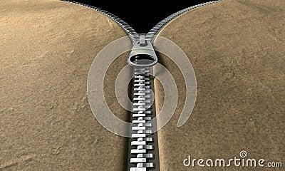 Zipper Front Perspective