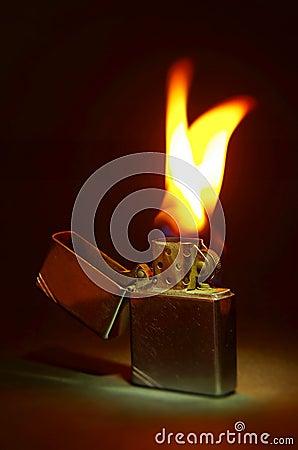 Free Zippo Lighter Royalty Free Stock Photography - 52048547