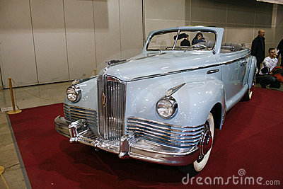 ZIS-110P Phaeton Editorial Stock Photo