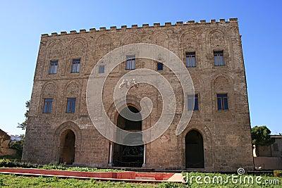 Zisa arabic palace, Palermo