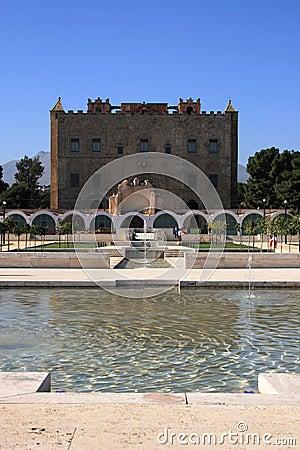 Zisa Castle, Palermo, Sicily