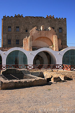 The ZiSa Palace ° Norman Arabic architecture_ Sicily