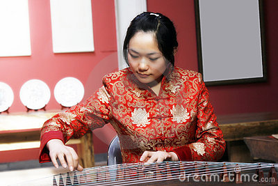 Zither chinês.