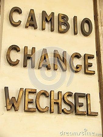 Zmiany waluty