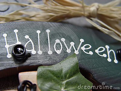 Znak halloween.
