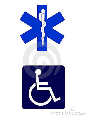 Znaki medycznych.