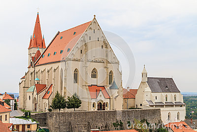 Znojmo, Czech Republic - Church of St. Nicholas and St. Wencesla