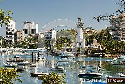 Zocolo Area - Acapulco Mexico