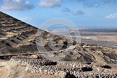 Zocos on island of Lanzarote