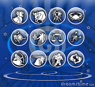 Zodiac background