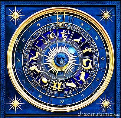 Free Zodiac Blue Royalty Free Stock Photos - 3086268