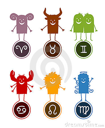 Zodiac funny cartoon 1