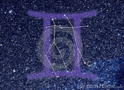 Zodiac Gemini stars