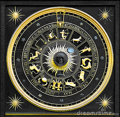 Free Zodiac Gold Stock Photography - 3086322