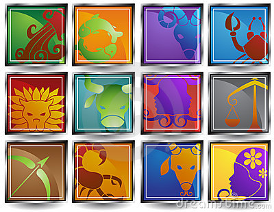 Zodiac Horoscope Icons