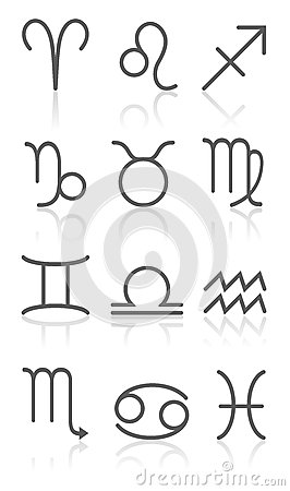 Zodiac Horoscope Signs Collection