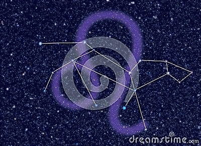 Zodiac Leo stars