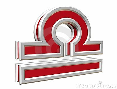 Zodiac libra simbol