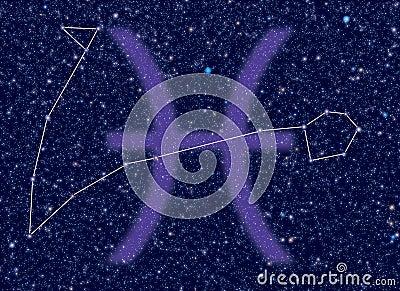 Zodiac Pisces stars