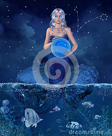Free Zodiac Series - Pisces Stock Images - 36200534