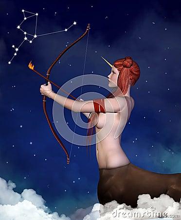 Free Zodiac Series - Sagittarius Stock Photos - 36199843