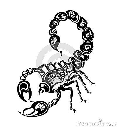 Scorpio Zodiac Tattoo Designs
