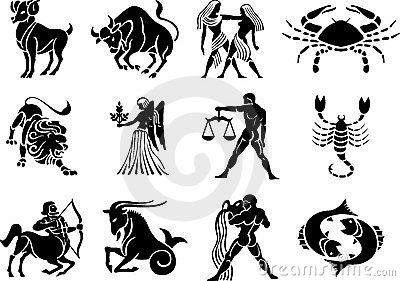 Zodiac Star Vector Signs 1
