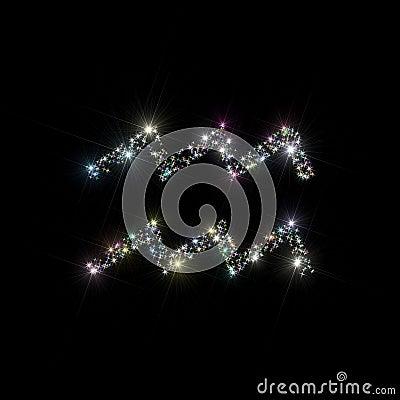 Zodiac stars Aquarius