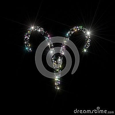 Zodiac stars Aries