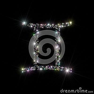 Zodiac stars Gemini