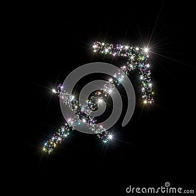 Zodiac stars Sagittarius
