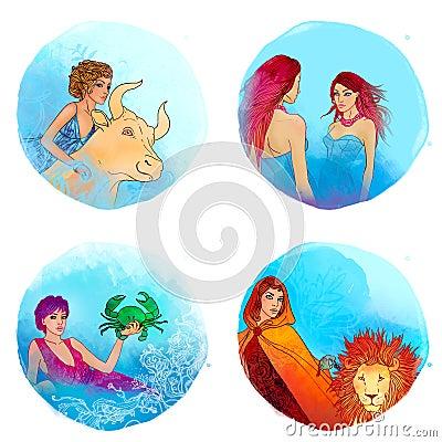 Zodiac: Taurus, Gemini, Cancer, Leo