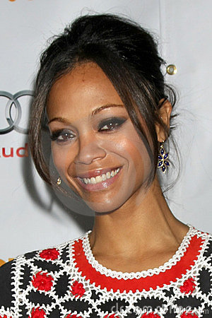 Zoe Saldana Editorial Photography