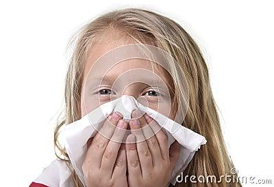 Koud hebben ziek