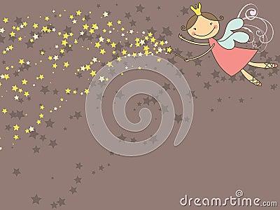 Zoete fee en sterren