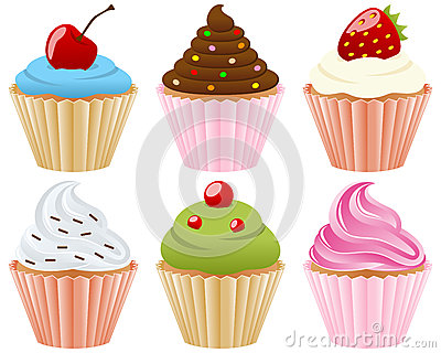 Zoete Inzameling Cupcakes