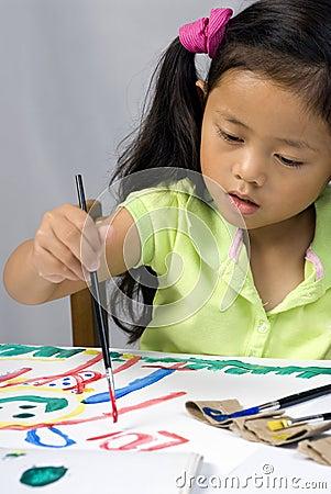 Zoey ζωγραφικής