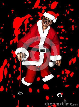Zombie Father Christmas