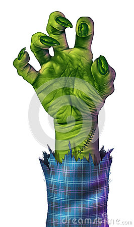 Free Zombie Hand Stock Images - 26813684