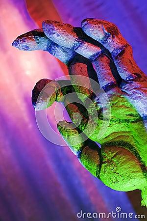 Zombie Hand Reaching